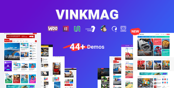 Vinkmag - Multi-concept News Magazine WordPress Theme