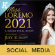 Beauty Contest Social Media Pack - GraphicRiver Item for Sale