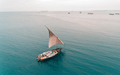cargo wooden dhow at stone town, zanzibar - PhotoDune Item for Sale