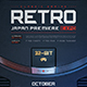 Retro Gaming Flyer Classic Game Template - GraphicRiver Item for Sale