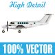 Commercial Airplane - GraphicRiver Item for Sale