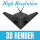 Military Stealth Aircraft - GraphicRiver Item for Sale