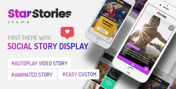 StarStories – Creative Magazine & Blog theme Preview