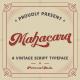Mahacara - Vintage Script - GraphicRiver Item for Sale