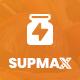 Supmax - Health & Supplement WordPress Theme - ThemeForest Item for Sale