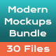 Modern Mockups Bundle - GraphicRiver Item for Sale