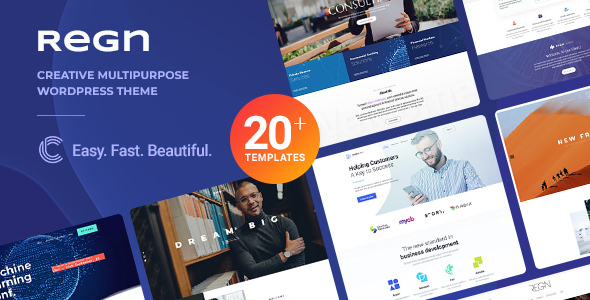 Regn | Multi-Purpose WordPress Theme