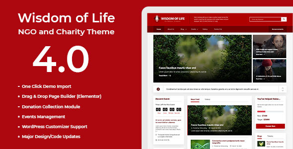 Themeforest | Wisdom Of Life: NGO and Charity Theme Free Download free download Themeforest | Wisdom Of Life: NGO and Charity Theme Free Download nulled Themeforest | Wisdom Of Life: NGO and Charity Theme Free Download