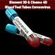 Blood Test Tubes Coronavirus 3D Model - 3DOcean Item for Sale