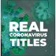 Real Coronavirus Titles - VideoHive Item for Sale