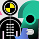 Group of People and Crash Test Dummy - GraphicRiver Item for Sale
