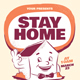 Stay Home Flyer - GraphicRiver Item for Sale
