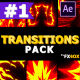 Fire Transitions | After Effects - VideoHive Item for Sale