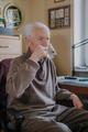 Old man drinking water closeup - PhotoDune Item for Sale