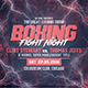 Boxing Flyer/Poster - GraphicRiver Item for Sale