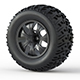 Monster Truck Wheel Toy - 3DOcean Item for Sale