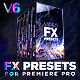 Presets Pack for Premiere Pro: Transitions, Titles, Effects, VHS, LUTS, Logo - VideoHive Item for Sale
