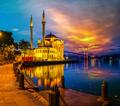 Ortakoy Mosque at night - PhotoDune Item for Sale