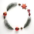 Christmas wreath. - PhotoDune Item for Sale