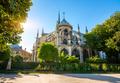 Notre Dame at sunrise - PhotoDune Item for Sale