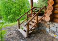 Natural wood staircase - PhotoDune Item for Sale