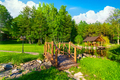 Wooden bridge at day - PhotoDune Item for Sale