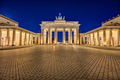 The illuminated Brandenburger Tor - PhotoDune Item for Sale
