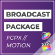 FCPX Broadcast Motion Pack - VideoHive Item for Sale