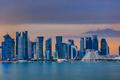 Doha at night. Qatar - PhotoDune Item for Sale