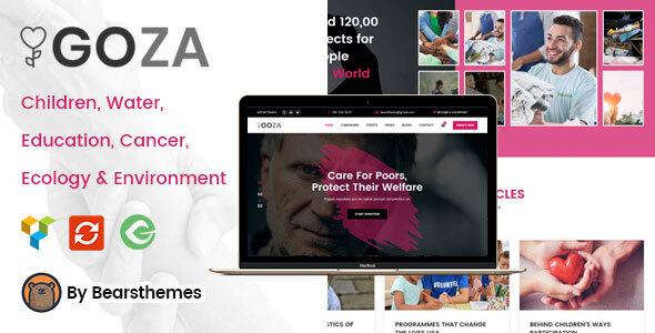 Goza - Nonprofit Charity WordPress Theme