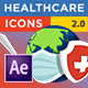 Healthcare Icons (Coronavirus) - VideoHive Item for Sale