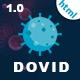 Dovid - Coronavirus Medical Prevention HTML5 Template - ThemeForest Item for Sale