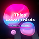 Liquid Neon Titles 4 - VideoHive Item for Sale