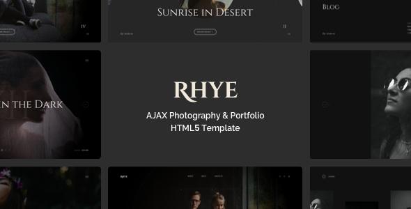 Rhye – AJAX Portfolio HTML5 Template