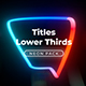 Neon Light Lower Thirds 6 - VideoHive Item for Sale