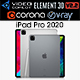 Apple iPad Pro 11 and 12.9 inch 2020 - 3DOcean Item for Sale