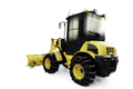 Yellow bulldozer in pile of snow - PhotoDune Item for Sale