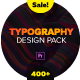 Typography Design Pack -  for Premiere Pro | Essential Graphics - VideoHive Item for Sale