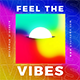 Feel the Vibes Music Album Cover Artwork Template - GraphicRiver Item for Sale