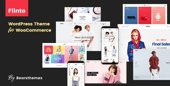 Flinto – Modern and Minimal eCommerce WordPress Theme