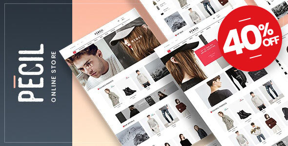 Pecil - Fashion WooCommerce Theme