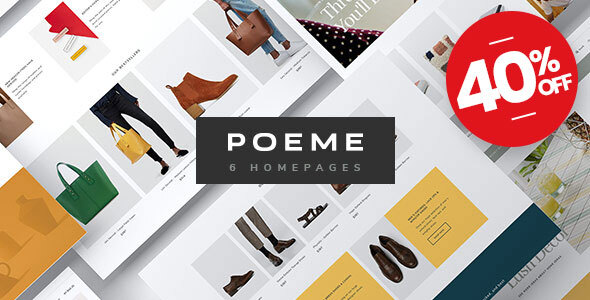Poeme - Multipurpose WooCommerce WordPress Theme