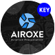 Airoxe Aviation Keynote Template - GraphicRiver Item for Sale
