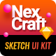 NexCraft | Modular Sketch Template and Web UI Kit - ThemeForest Item for Sale