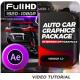 Auto Car Graphics Extension | Infographics Bundle - VideoHive Item for Sale