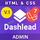 Dashlead – Laravel Admin Template - ThemeForest Item for Sale
