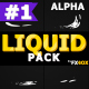 Dynamic Liquid Elements | Motion Graphics Pack - VideoHive Item for Sale