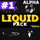 Liquid And Splash Elements | Motion Graphics Pack - VideoHive Item for Sale