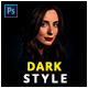 Dark Style Photoshop Action - GraphicRiver Item for Sale