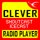 CLEVER - HTML5 Radio Player With History - Shoutcast and Icecast - CodeCanyon Item for Sale